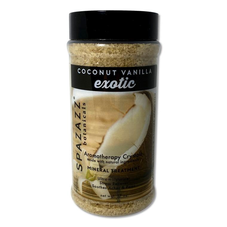 Coconut Vanilla Spazazz Fragrance Crystals