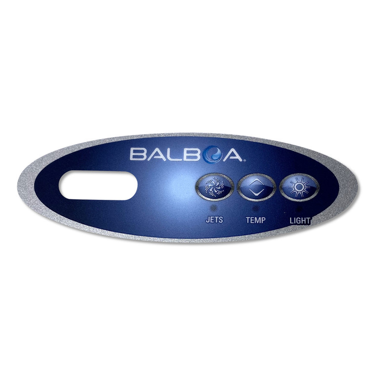 Balboa VL200 Overlay 3 Button 11219