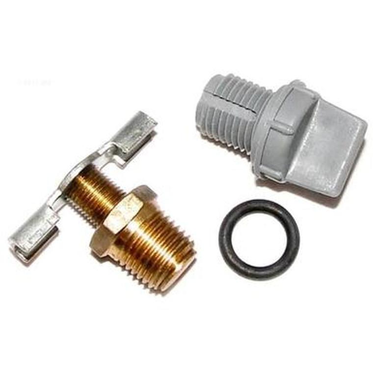 Raypak drain plug kit, 006721F