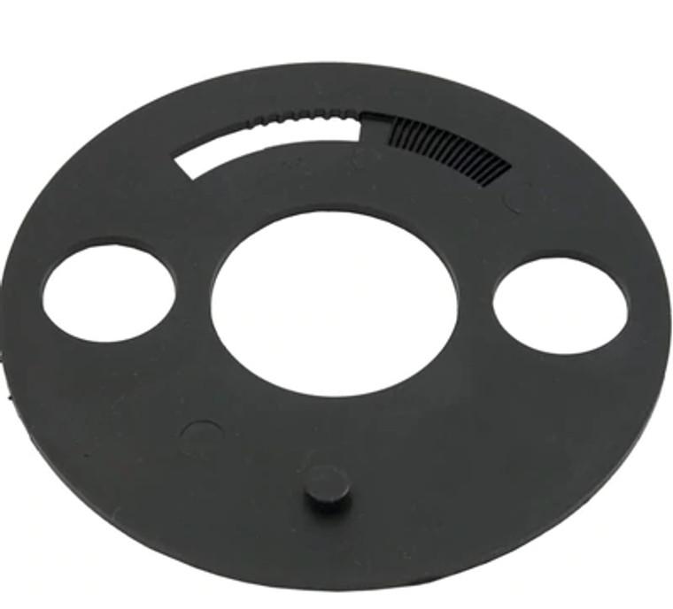 Waterway diverter plate, 519-3010