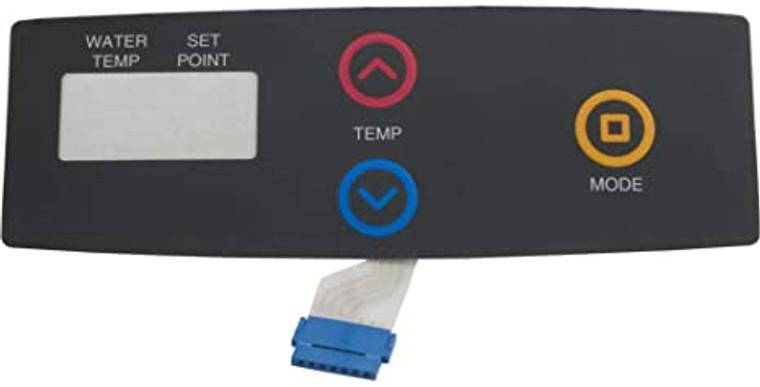 Raypak 009492F Switch/Decal Membrane