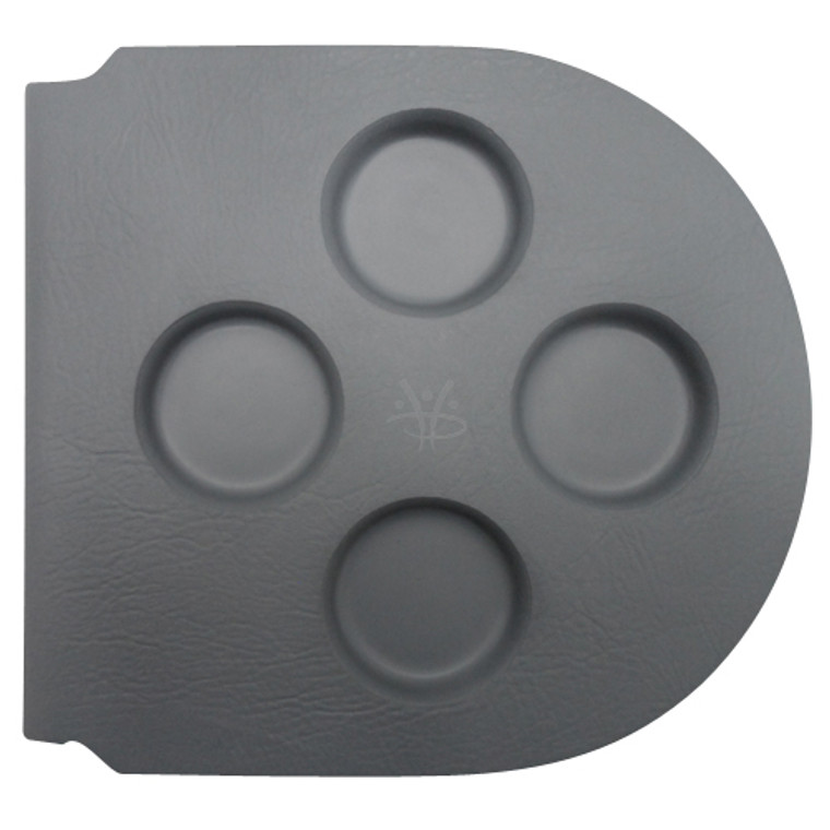 Serenity Round Rubber Filter Lid