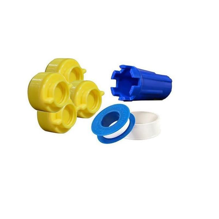 Yellow Plug And Wrench Kit