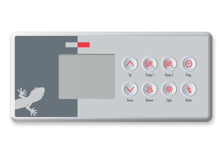 Gecko TSC-4 Topside BDLTSC4GE1 - 8 Button