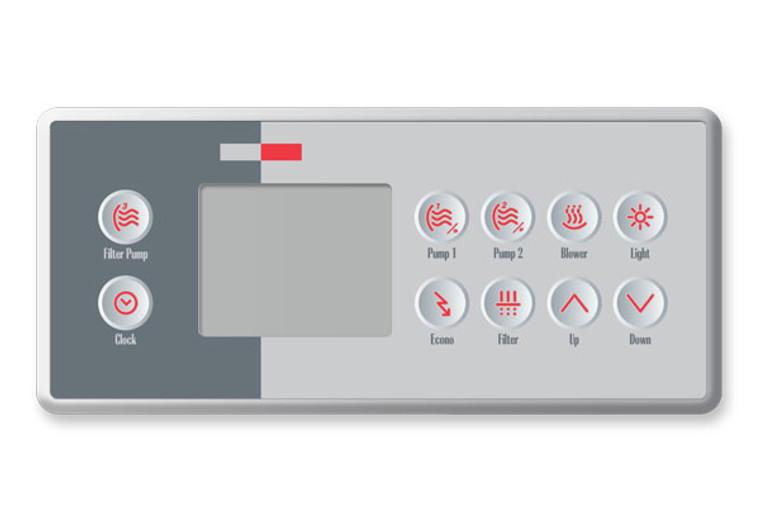 Gecko TSC-4 Topside BDLTSC410K - 10 Buttons