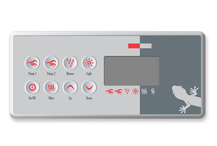 Gecko TSC-8 Topside BDLTSC810K - 10 Buttons