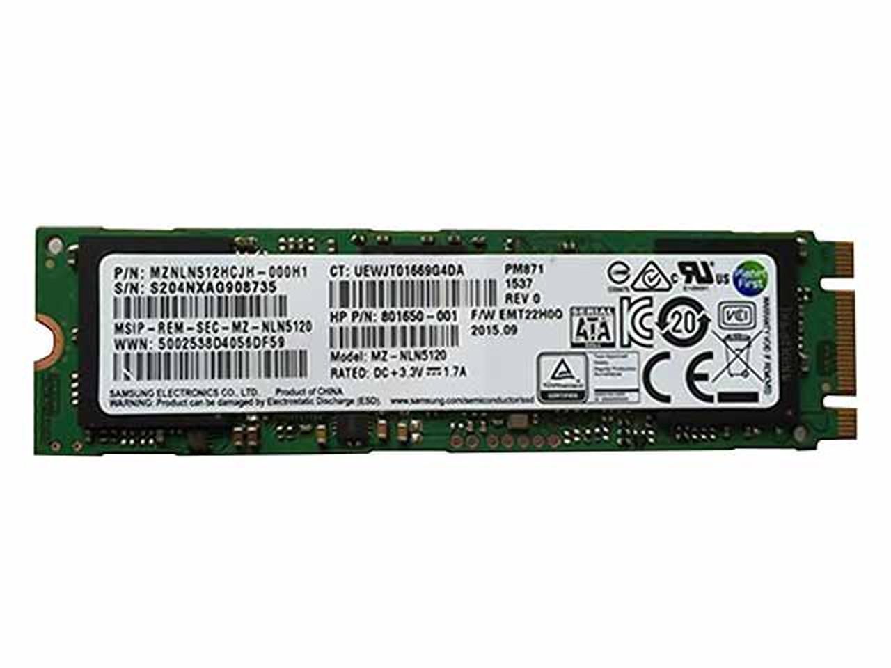 Genuine HP 240GB SSD Hard Drive 817670-001