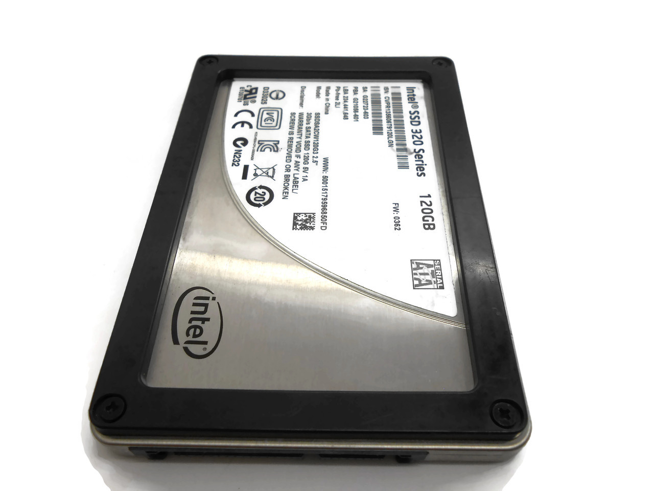 HP Intel 320 Series 120GB 3Gbps SSD Drive G22723-603 G21056-601