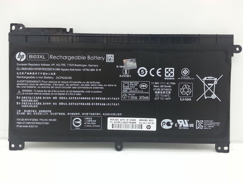 New Genuine HP Pavilion M3-U Stream 14-AX 3-cell 41.7Wh Battery 844203-850
