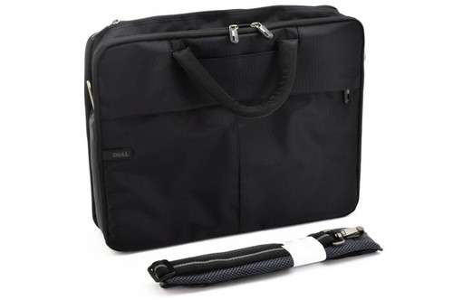 """Genuine Dell Classic Black Nylon Notebook 15.6"""" Carrying Case C5CDG"""