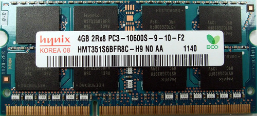 PARTS-QUICK Brand 4GB Memory for Toshiba Satellite Pro L550-00Q DDR3 PC3-10600 1333MHz SODIMM RAM