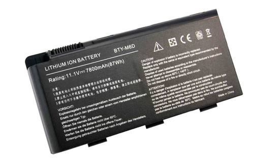New MSI GT780R GT663R GT660R Battery BTY-M6D