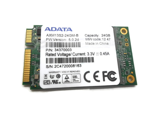 24GB Mini PCI-e SSD mSATA (Solid State Drive) (USE) AXM13S2-24GM-B