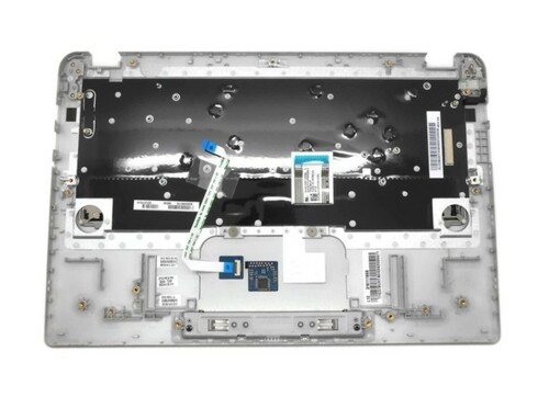 New Genuine Toshiba Chromebook Palmrest Touchpad Keyboard A000380170