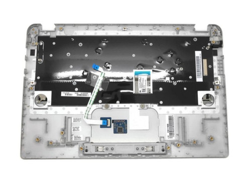 Genuine Toshiba Touchpad Palmrest Keyboard (RF) A000380170 EABUH006010