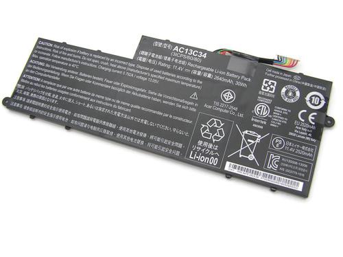 New Original Acer Aspire V5-122P 2640mAh Battery AC13C34 3ICP5/60/80