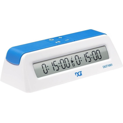 DGT 1001 Game Timer Digital Chess Clock White