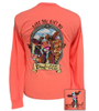 Girlie Girl Originals Brand Of Cattle Retro Coral LS