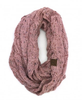 C.C Rose Speckled Infinity Scarf