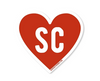 Good Southerner Love South Carolina Sticker