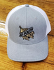 Crossroads Clothing  AG South Grey/White Tobacco Hat
