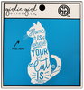 Girlie Girl Originals Where Your Cat Is Decal/Sticker