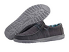 Hey Dude Men's Wally Sox Charcoal Shoes