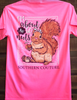 Southern Couture I'm Bout To Go Nuts Safety Pink