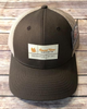 Round Here Clothing Tobacco Label Nash County Brown/Khaki Hat