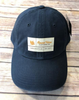 Round Here Clothing Tobacco Label Nash County Solid Navy Hat
