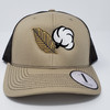 Ag South Tobacco and Cotton Khaki/Coffee Hat