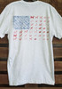 Daydream Tees American Flag Dogs