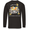 Southern Couture Fall Leopard Truck Dark Chocolate Long Sleeve