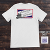 Crossroads Clothing America Needs Farmers Pocket Tee White