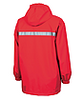 Charles River Monogrammed YOUTH Raincoat Red