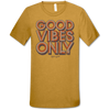 Highway 828 Good Vibes Only SS Heather Mustard