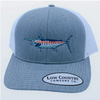 Low Country Marlin Heather Grey/White Hat