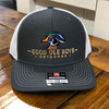 Good Ole Boys Outdoors Woodie Charcoal/White Hat