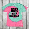 Daydream Tees Born To Be A Dog Mom SS