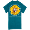 Southern Couture Strong & Bold Sunflower Galapagos Blue SS
