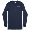 Southern Couture Serape Leopard Cactus Navy LS