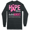 Southern Couture Hope Shines Dark Heather LS