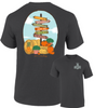 Southernology Fall Signs T-shirt