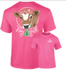 Southernology Hay Y'all Cow T-Shirt