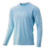 Huk Gear Vented Pursuit Ice Blue LS