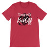 Daydream Tees Classy until Kickoff - Red & Black