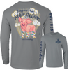 Southernology Happier Than A Pig In Sunshine Grey LS