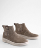 Hey Dude Vic Suede Fossil