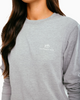 Southern Tide Offroad Sunset Heather Grey LS