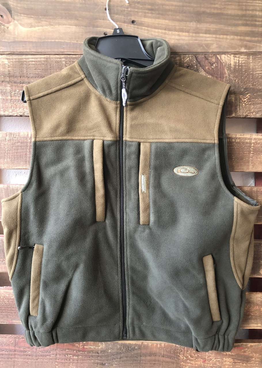 69a3e10c17482 Drake Windproof Layering Two Tone Olive/Brown Vest - Girls Round Here